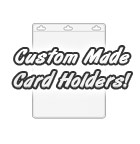 Custom Made Plastic Card Holders