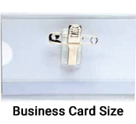 L-153C Plastic Card Holder