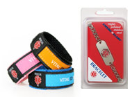 Personal ID Wristbands