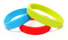 Silicone Wristbands - Plain