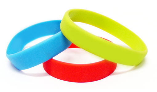 Silicone Bracelet Fundraiser Builds School Spirit