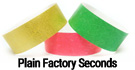 Tyvek Factory Seconds Wristbands