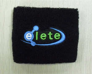 Embroided Print Sweatband
