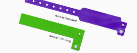 Access PVC Wristbands